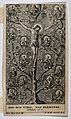 Christ as the vine; the Apostles and Evangelists as branches Wellcome V0033382.jpg