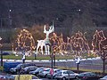 Christmas Reindeer on Roundabout - geograph.org.uk - 1084325.jpg