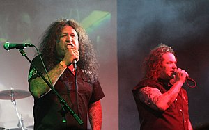 Dublin Death Patrol - Image: Chuck Billy and Steve Souza