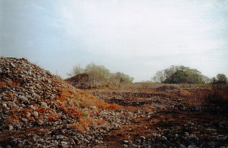 Chunchucmil - Archaeological mounds of ancient Chunchucmil.