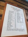 Church of St John, Finchingfield Essex England - Vicar list.jpg