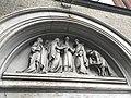 Church of St Joseph, Highgate exterior sculpture Marriage of the Virgin.jpg