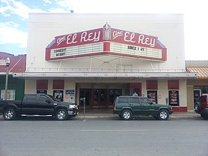 National Register of Historic Places listings in Hidalgo County, Texas - Image: Cine El Rey 2012 09 13 14 02 52