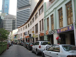Shophouse Building serving both as a residence and a commercial business