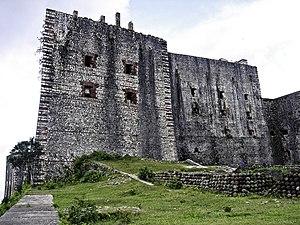 Citadelle Laferrière - Walls of the citadel.