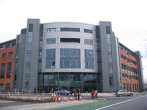 City College Coventry - City College Coventry moved to this purpose-built complex in 2009