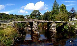 Postbridge - Clapper bridge