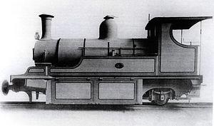 Namaqualand 0-6-2 Clara Class - Clara Class no. 5 Marie without tender, c. 1891