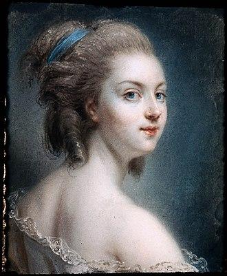 Rosalie Duthé - Presumed portrait of Rosalie Duthe Claude-Jean-Baptiste Hoin (1750–1817)