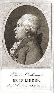 Claude-Carloman de Rulhière French poet, historian