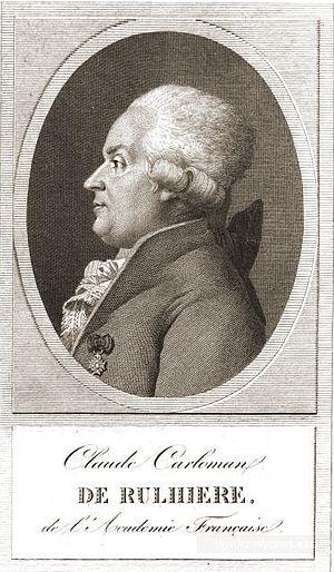 Claude-Carloman de Rulhière - Claude Carloman de Rulhière