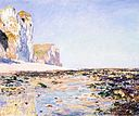 Claude Monet - Seashore and Cliffs of Pourville in the Morning.jpg