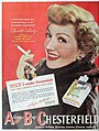 Claudette Colbert - Chesterfield is my favorite cigarette, 1948.jpg