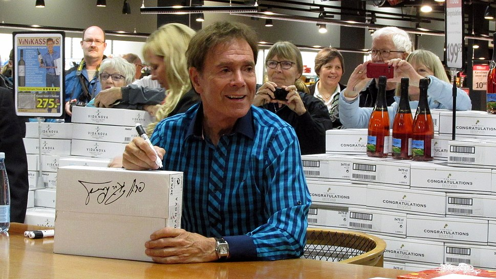 Cliff Richard Denmark 2015 ubt