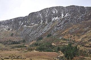 Benleagh Mountain in Wicklow, Ireland