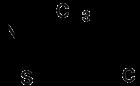 Strukturformel Clomethiazol