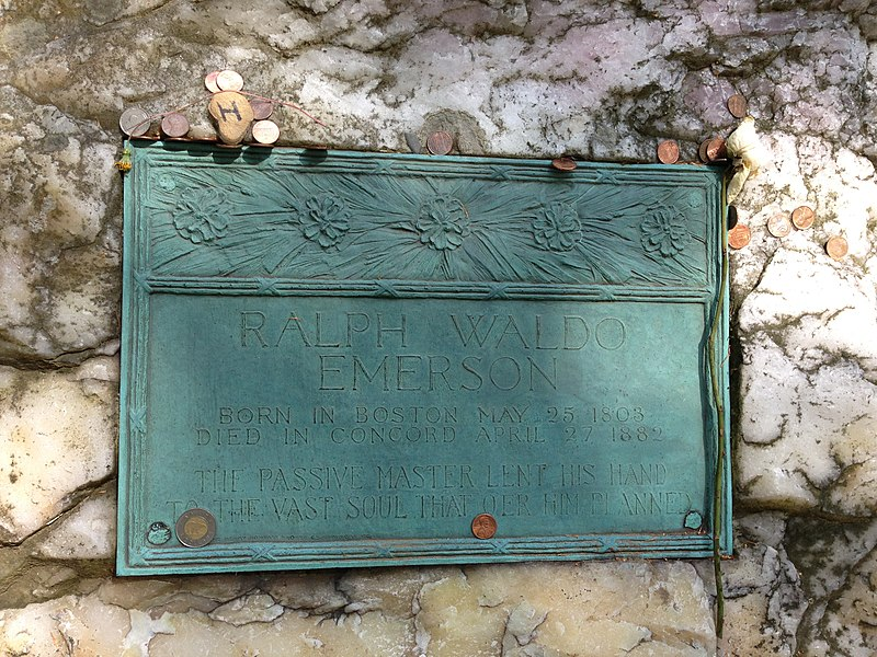 Close up of Ralph Waldo Emerson%27s grave.jpeg