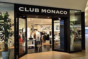 Club Monaco - Club Monaco in Fairview Mall