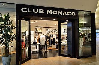 Club Monaco - Club Monaco in Fairview Mall, Toronto