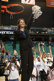 Joanne P. McCallie American basketball player and coach