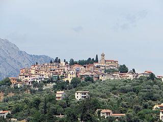 Coaraze Commune in Provence-Alpes-Côte dAzur, France