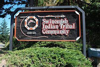 Swinomish Indians of the Swinomish Reservation of Washington federally recognized Tribe