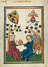 Codex Manesse 314v Günther von dem Vorste.jpg