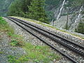 Cog railway to Mer du glace.JPG