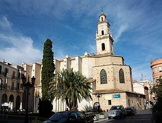 Route of the Valencian classics - Collegiate Basilica of Gandia.