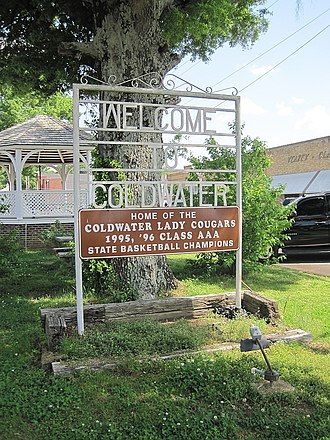 Coldwater, Mississippi - Image: Coldwater MS 005