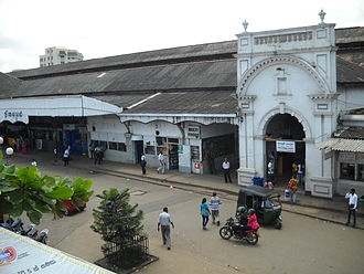 Fort railway station - Entrance