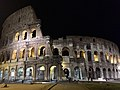 Colosseum exterior at night, Rome, Italy (Ank Kumar) 02.jpg