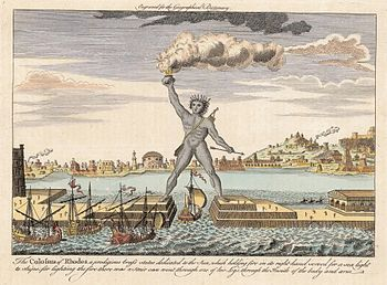 English: Colossus of Rhodes