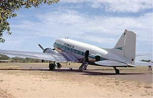 Comair (South Africa) - Comair Douglas DC-3 in 1973