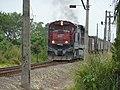 Comboio que saía sentido Boa Vista do pátio da Estação Pimenta em Indaiatuba - Variante Boa Vista-Guaianã km 218 - panoramio.jpg