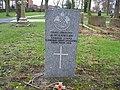 Commonwealth War Grave in Jarrow Cemetery (WW1-25) - geograph.org.uk - 1604067.jpg