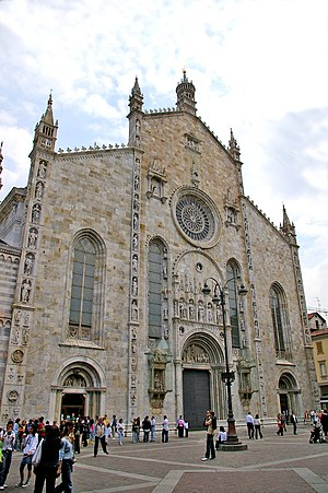 Como Cathedral - West front