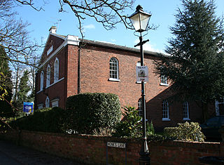 Congregational Chapel, Nantwich grade II listed church in the United kingdom
