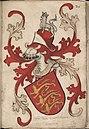 Coninc van Enghelant - Koning van Engeland - King of England - Wapenboek Nassau-Vianden - KB 1900 A 016, folium 26r.jpg