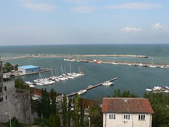 9 Lives (Alexandra Stan song) - Image: Constanta, view from mosque 2
