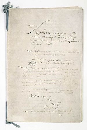 Constitution of the Year XII - Constitution of the Year XII (1804).