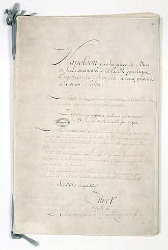 Constitution - Constitution of the Year XII