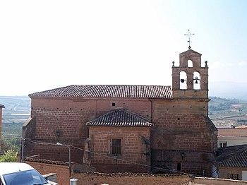 Vista esterior del antiguo convento de Santa Clara.