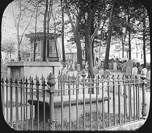 Copp's Hill Burying Ground - View of Copp's Hill Burying Ground, 1895