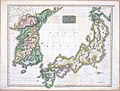 Corea and Japan Map in 1815.jpg