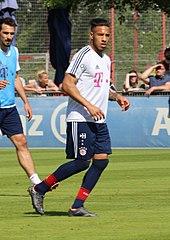 Tolisso in allenamento al Bayern Monaco nel 2018