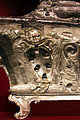 Cosimo merlini il vecchio, reliquiario dei ss. marco papa, amato abate e concordia martire, 1622, argento su legno 04.JPG
