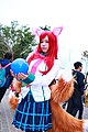 Cosplayer of Ahri, League of Legends at CWT41 20151212c.jpg