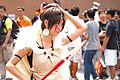 Cosplayer of San, Princess Mononoke at FF22 20130727b.jpg
