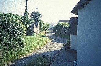 Petrockstowe - Image: Cott Lane, Petrockstow geograph.org.uk 41083